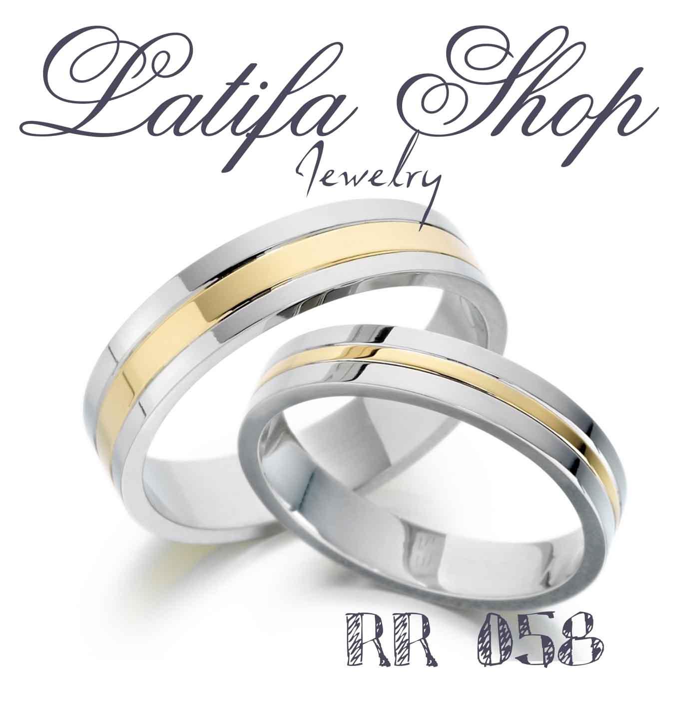 Rr58 Cincin Kawin Cincin Perak Cincin Tunangan Cincin Nikah Cincin Emas Putih Cincin Emas